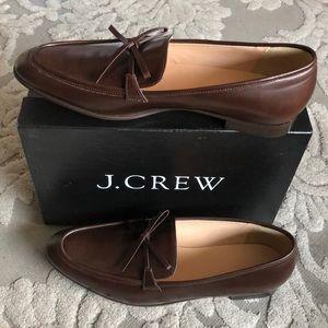 Jcrew Academy women's leather loafers